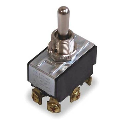 IDEAL Electrical 774000 DPDT/Screw Heavy-Duty Toggle Switch/(On)-Off-(On) Circuitry
