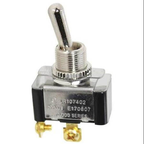 IDEAL Electrical 774011 SPST/Screw Toggle Switch w/On-Off Face-Plate/On-Off Circuitry