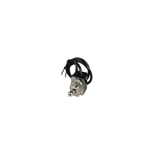 IDEAL Electrical 774018 SPST/Wire Leads Bat Toggle Switch w/On-Off Faceplate/On-Off Circuitry