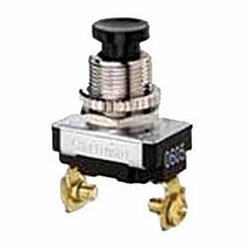 IDEAL Electrical 774022 SPST NO/Screw Maintained Contact Push-Button Switch/(On)-Off Circuitry