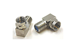 IDEAL Electrical 85-070 F-Type 1GHz Bent Female-to-Male Coaxial Adapters (2)