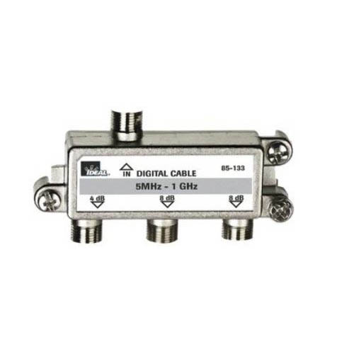 IDEAL Electrical 85-133 3-Way/5MHz-1GHz Cable TV Cable Splitter
