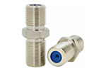 IDEAL Electrical 85-339 F-Type 3GHz Straight High Bandwidth Adapters (Standard/High Definition, 4)