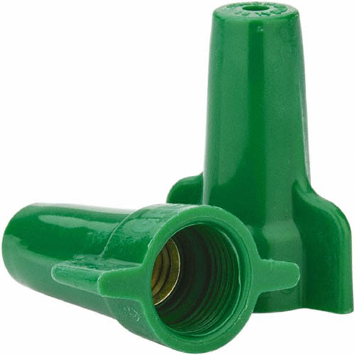 IDEAL Electrical 30-192 #10-14 AWG Model 92 Greenie Grounding Wire Connectors (Green/1,000)