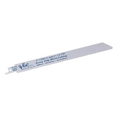 IDEAL Electrical 36-059 6in.x3/4in.x.035in./14 TPI Heavy-Duty Metal Cutting Reciprocating Blades (5)
