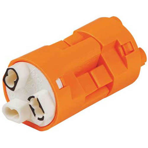 IDEAL Electrical 30-103X Model 103 3-Wire PowerPlug Luminaire Disconnects (Orange, Box of 1,000)