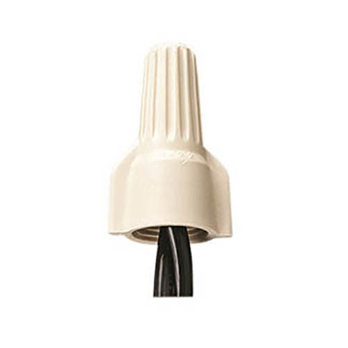 IDEAL Electrical 30-541 #8-22 AWG Model 341 Twister Wire Connectors (Tan, Carton of 1,000)