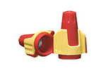 IDEAL Electrical 30-144 #8-22 AWG Model 344 Twister Pro Wire Connectors (Yellow/Red, Box of 50)