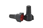 IDEAL Electrical 30-1162 #8-18 AWG Model 62 WeatherProof Wire Connectors (Gray/Red, Card of 20)