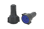 IDEAL Electrical 30-1163 #6-16 AWG Model 63 WeatherProof Wire Connectors (Gray/Dark Blue/15)