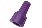 IDEAL Electrical 30-065 Model 65 Twister Al/Cu Wire Connectors (Purple, Card of 2)