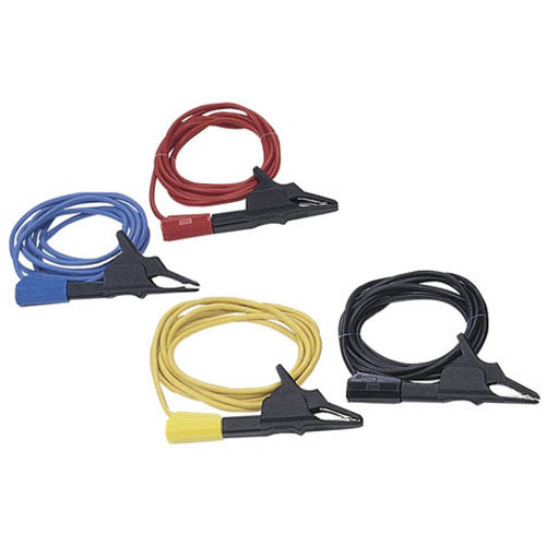 IDEAL Electrical TL-805 Test Leads (Black/Blue/Red/Yellow, Group of 4)