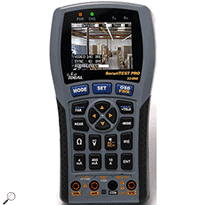 IDEAL Networks 33-892 SecuriTEST PRO CCTV/Security Tester IRE Video/Sync Tests Carrying Case