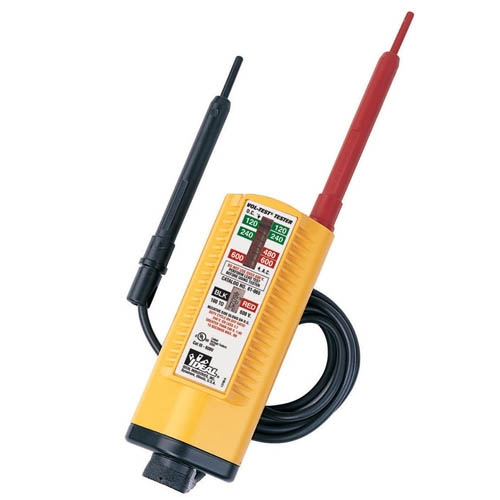 Ideal Voltage Tester Replacement Leads : Ideal electrical vol con tester cat v tests up