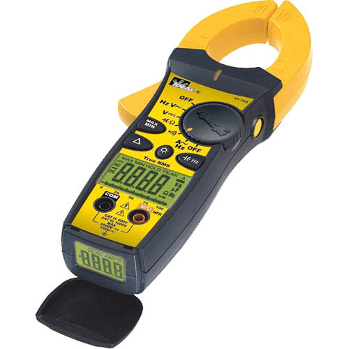 Electrical Test Meters : Ideal electrical  a ac clamp meter w