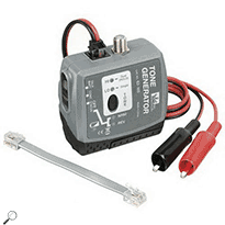 IDEAL Networks 62-160 Tone Generator w/3 Tones, RJ11/F/Alligator Clip Connections & Auto-Off