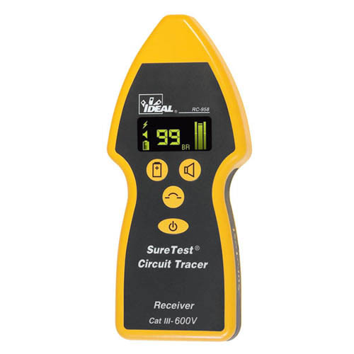IDEAL Electrical RC-959 SureTrace Open/Closed Circuit Tracer Receiver