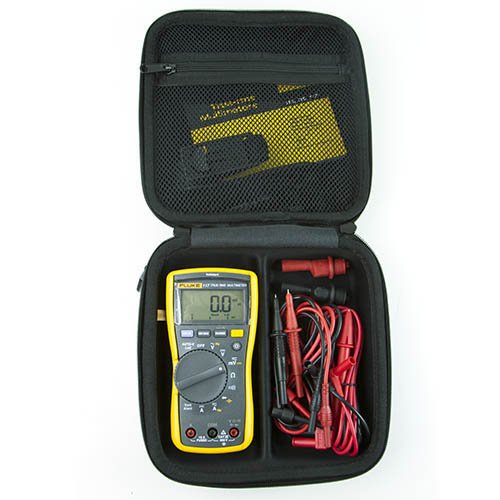 Test Equipment Depot 117-LEADS-TPAK-TEC25-DD shown assembled within the EVA case