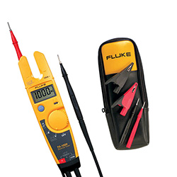 Fluke T51000-T5KIT Depot Deal 000V Electrical Tester, with T5 Accessory Kit, TP220, AC285 & C33