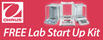 Ohaus Promotions: Ohaus Free Lab Startup Promotion