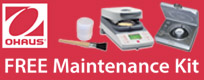 Ohaus Promotions: Ohaus Moisture Analyzer Promotion
