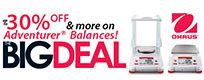 Ohaus Promotions: Ohaus The Big Deal Promotion
