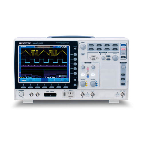 Instek GDS-2202A 200 MHz 2 Channels Visual Persistence Digital Storage Oscilloscope