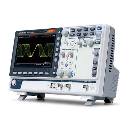 Instek GDS-2102E 100 MHz, 2-Channel 1 GS/s, 10 Mpts. with USB/LAN, VPO Digital Storage Oscilloscope