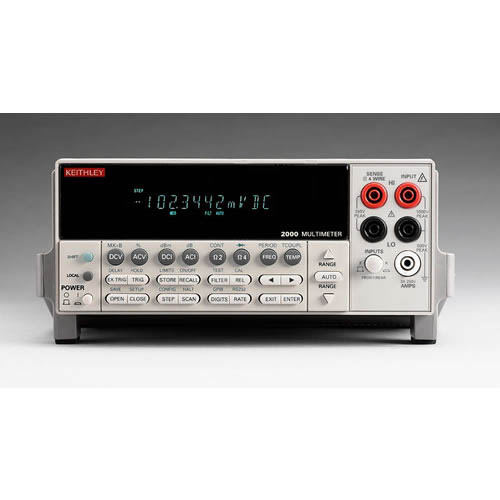 Keithley 2000 6 1/2-digit Multimeter with IEEE-488 & RS-232 Interfaces