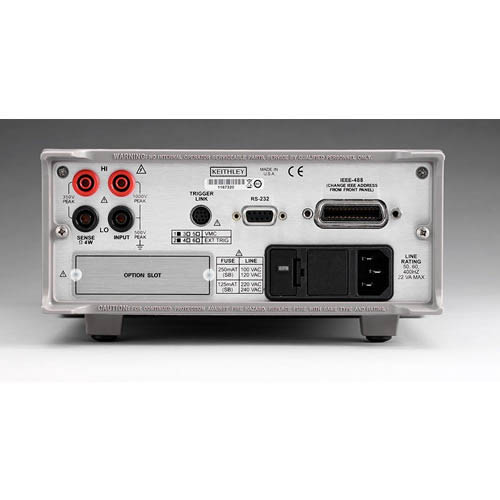 Keithley 2000-20 6 1/2-digit Multimeter with 20-Channel Scanner Card/IEEE-488 & RS-232 Interfaces (Back)