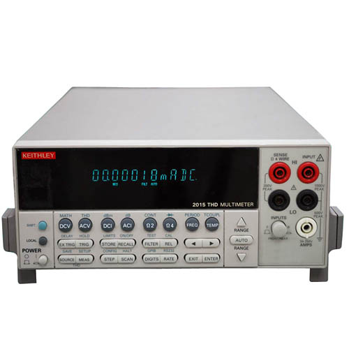 Keithley 2015-P 6 1/2-digit Audio Analyzing Multimeter with GPIB & RS-232 Interfaces