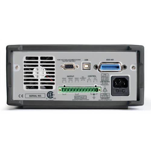 Keithley 2200-30-5 Single-Output Programmable DC Power Supply with USB & GPIB Interfaces, 30V/5A (Back)