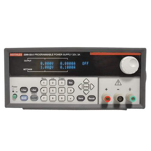 Keithley 2200-32-3 Single-Output Programmable DC Power Supply with USB & GPIB Interfaces, 32V/3A