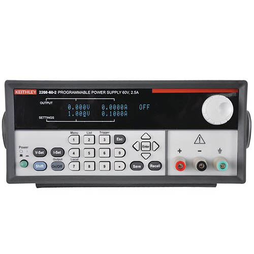 Keithley 2200-60-2 Single-Output Programmable DC Power Supply with USB & GPIB Interfaces, 60V/2.5A