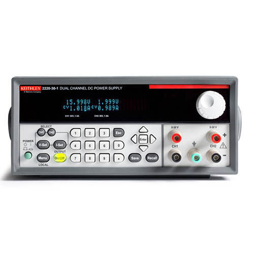 Keithley 2220-30-1 Dual-Output Programmable DC Power Supply with USB Interface