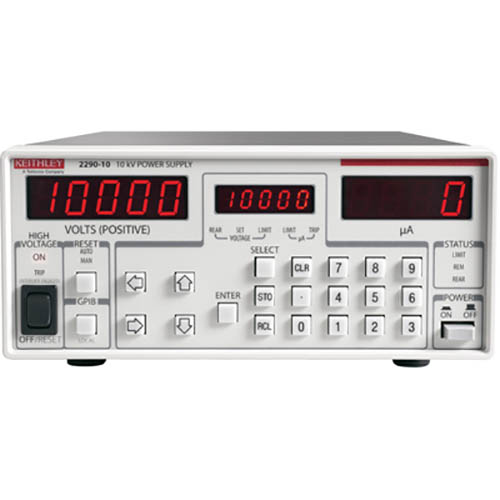 Keithley 2290-10 High Voltage DC Power Supply with GPIB, RS-232, & Analog Interfaces, 10 kV