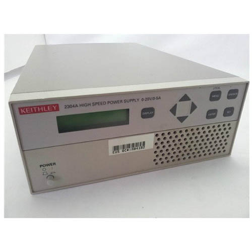 Keithley 2304A High Speed Precision Power Supply with Readback/GPIB Interface, 100W (Front/Top)