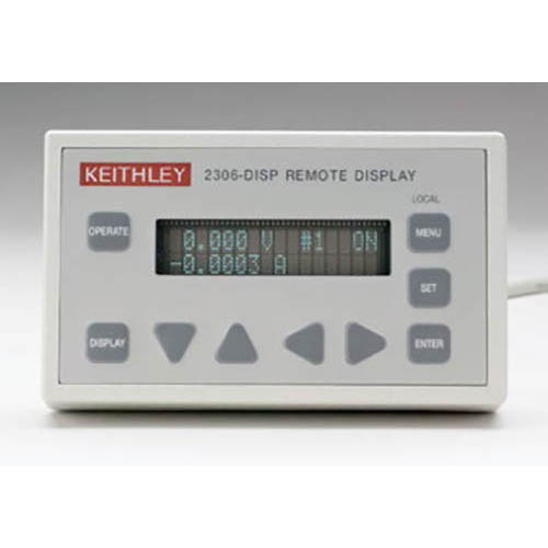 Keithley 2306-DISP VFD Remote Display with Keypad for Model 2306