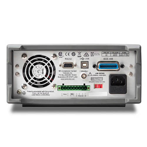 Keithley 2380-500-30 Programmable DC Electronic Load with GPIB Interface, 500V/30A/750W (2380-500-30 Back)