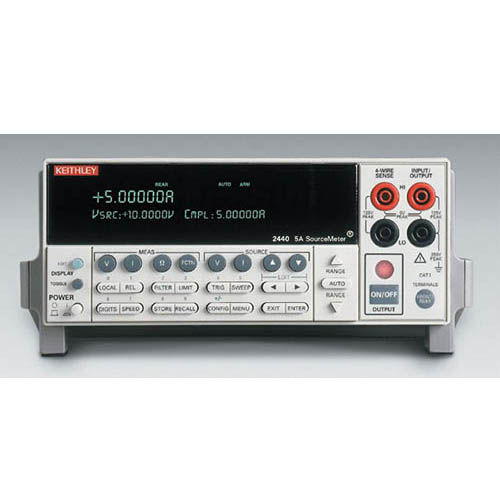 Keithley 2440. SourceMeter (SMU) Instrument with GPIB & RS-232 Interfaces, 5A