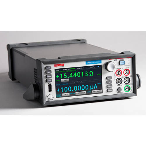 Keithley 2450 Graphical SourceMeter (SMU) Instrument with GPIB, USB, & Ethernet Interfaces (Front/Top)