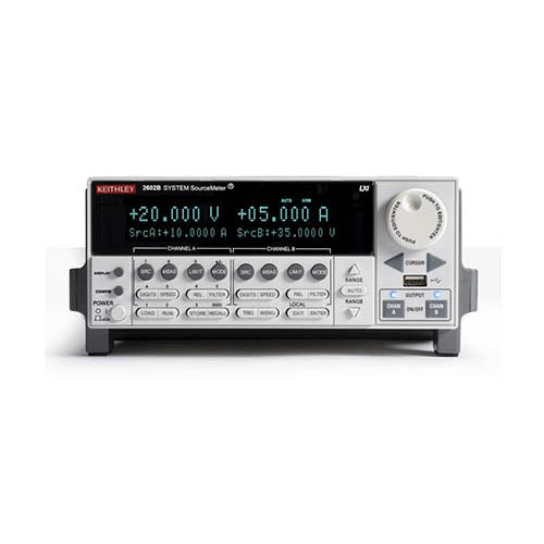 Keithley 2602B Dual-Channel System System SourceMeter SMU w/USB, LXI-C, GPIB, RS-232, I/O, 3A DC/10A