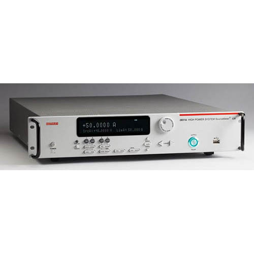 Keithley 2651A High Power System SourceMeter (SMU) Instrument, 50A/40V/2000W