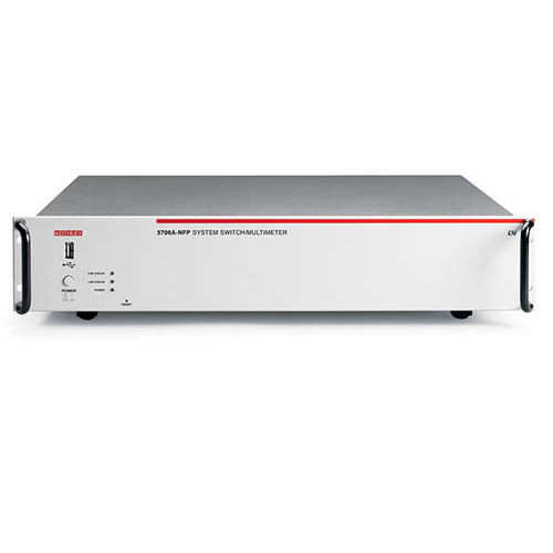 Keithley 3706A-NFP DMM/Switch System with 6-Slot Systems Switch/GPIB, USB, & LAN (No Front Panel)