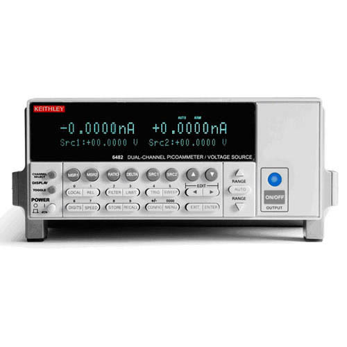Keithley 6482 Dual-Channel Picoammeter/Voltage Source with GPIB & RS-232 Interfaces