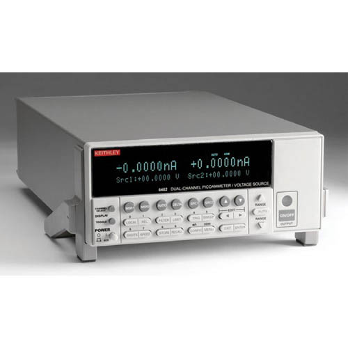 Keithley 6482 Dual-Channel Picoammeter/Voltage Source with GPIB & RS-232 Interfaces (Back)