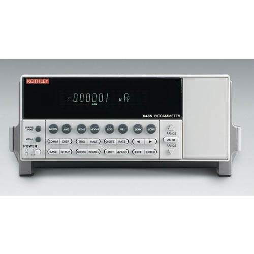 Keithley 6485 Single-Channel Picoammeter with GPIB & RS-232 Interfaces