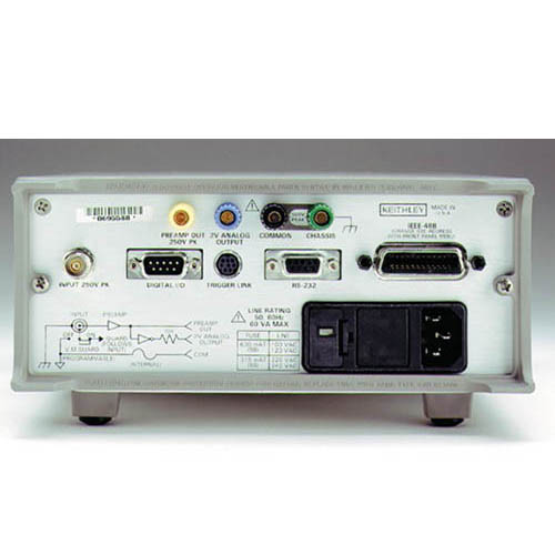 Keithley 6514 Programmable Electrometer (Back)