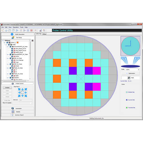Keithley ACS. Automated Characterization Suite Software