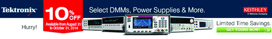 Tektronix/Keithley Build Your Bench Promotion
